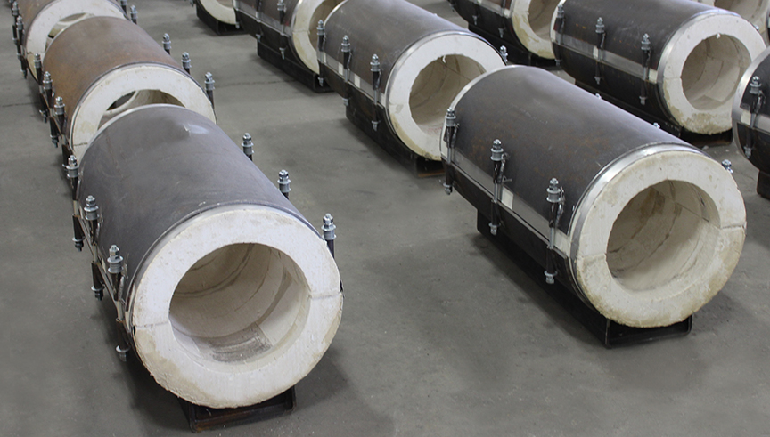 Calcium Silicate Chilled Water Pipe Supports Rilco