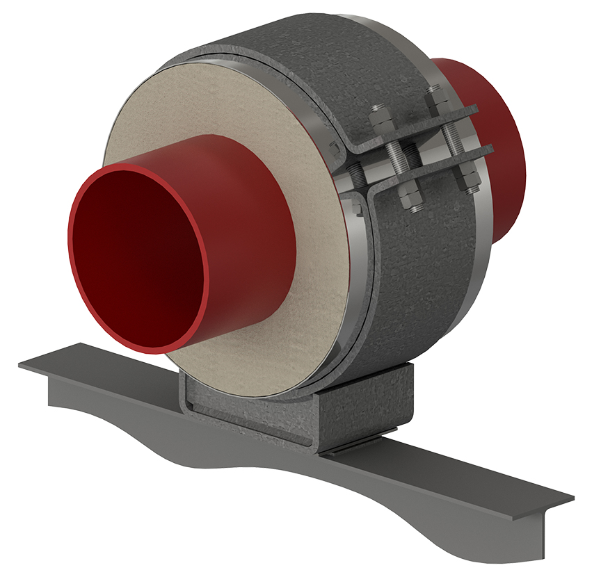 HS-1000 Hot Pipe Support
