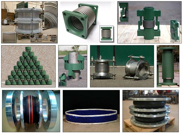 variety of expansion joints