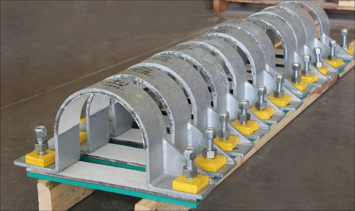 Custom Designed Hold Down Pipe Clamps | Rilco Manufacturing