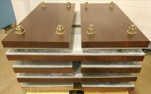 Permali Isolation Blocks Being Prepared for Shipping