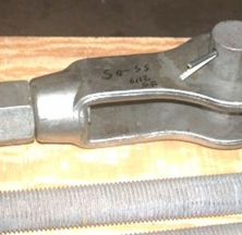 Forged Steel Clevis and Rod