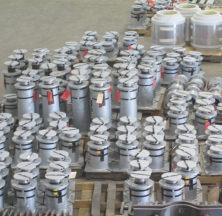 Several Variable Springs Being Prepared for Shipping