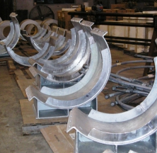 Steel Pipe Shoe Components