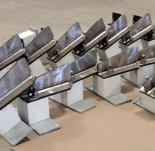 Structural Steel Components with Isolation Blocks