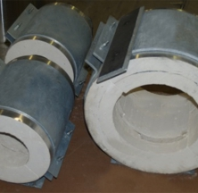 Various Diameter Calcium Silicate Pipe Shoes