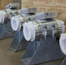 Custom Designed Cryowrap Pipe Supports