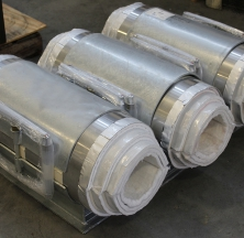 Cryogel Pipe Supports