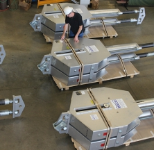 "Double Unit RCR Constants Designed with a 24,500 lb. Load and 27"" Upward Travel"