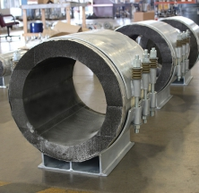 Large Diameter Foamglas Pipe Supports