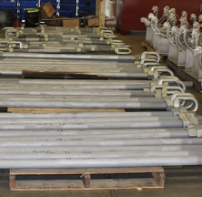 Several Hanger Rods and Hardware