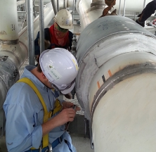 Measuring Pipe Supports in the Field