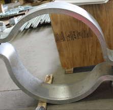 Large Diameter Pipe Clamp