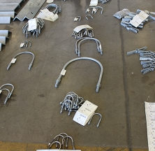 A Variety of Sizes of Rilco U-bolts