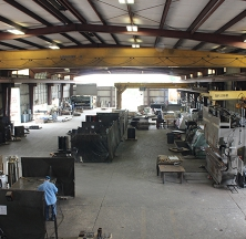 Welding Stations and Equipment at the Brittmoore Rilco Facility